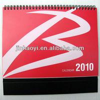 2014 Promotion Desk Calendar with Spiral Binding