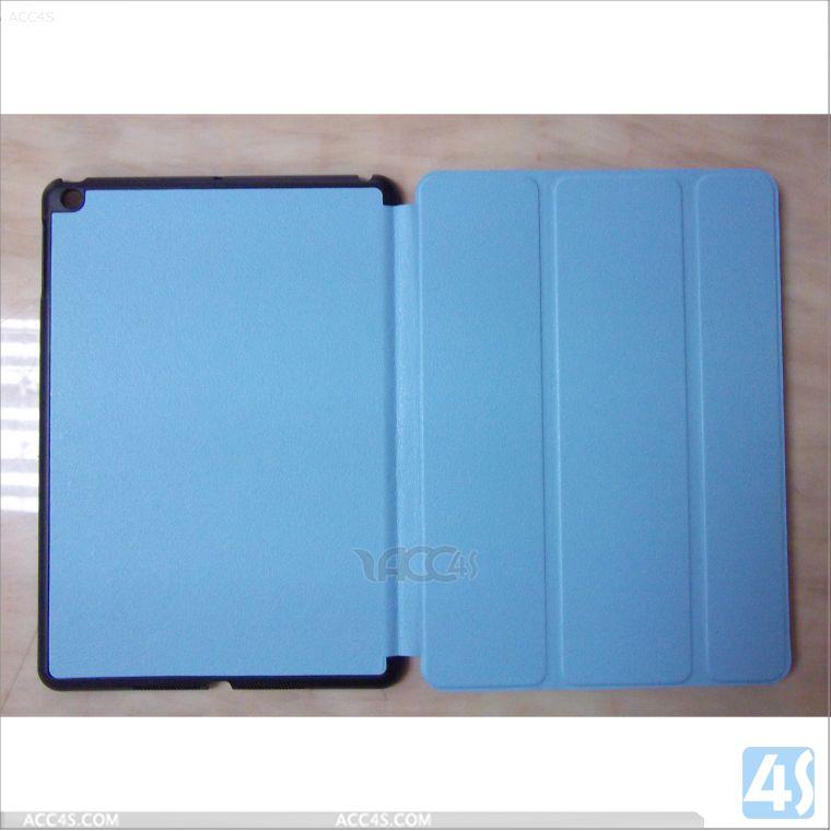 2014 Three folding flip leather case for iPad5 P-IPD5CASE005