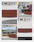 Galvanized aluminum shingles roofing material