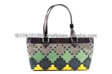 High Quality Beautiful Lady Genuine Leather Handbag