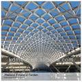 jardín botánico de resistencia a la tracción de la estructura de la membrana del techo