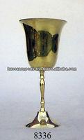 Decorative Brass Goblet