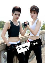 Undershirt Chest Binders Tank Top FTM Tomboy Lesbian Original Half G2