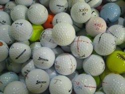 Class R practice golf balls