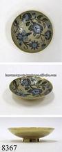 decorative brass bowl enamelled