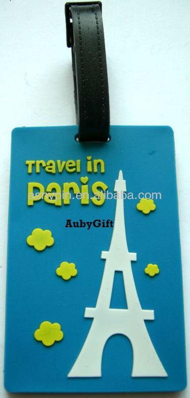 Travel in Paris - Eiffel Tower baggage tag