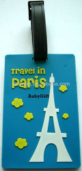 Travel in Paris - Eiffel Tower baggage tag
