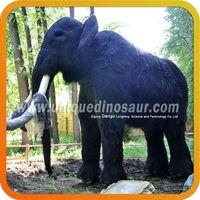Theme Park Decoration Mammoth Animatronic Animal Elephant