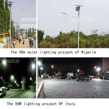 Via della luce solare 80w importe 96w 112w auto dc24v sensive+timer luce