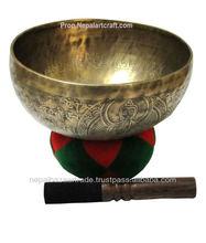 Tara Carving Buddha Bowl