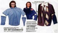 "Attachable-Detachable Sleeve(aka: ""Pull Away Sleeves""), Copyright, jmd, 1985"