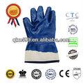 Caliente la venta de nitrilo guantes de la industria de petróleo y gas guantes resistente a la grasa- a prueba de
