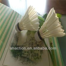 hot sale in Vietnam,Egypt,feather oem badminton shuttlecock