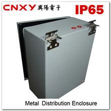Best sell IP65 waterproof stainless steel plexiglass door power distribution box