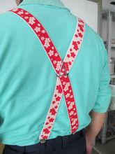 Dento no bi belt jacquard made in japan High quality