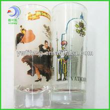 promotional glassc tea cups in 3d lenticular printing