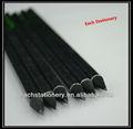 7 polegadas personalizado preto de madeira hb lápis de papelaria para escritório&