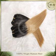 top grade mongolian two tone color weave hairGrade AAAA Two Tone Color Remy Mongolian 100% human hair