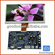 dalian good display 7 inch lcd monitor
