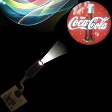 110V/220V led projection spot lamp/ clear projection logo led spotlight