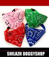 Mini pet collar bandana Triangle Halsband mit Tuch Chihuahua Yorkshire Terrier