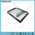 doble imagen 5x7 marco caja de luz de guangzhou