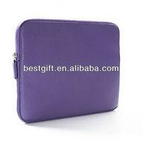 2013 best sell laptop sleeve genuine leather laptop sleeve for mini Ipad