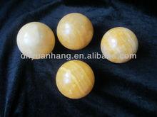 100mm diameter yellow jade stone spheres