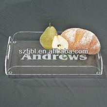 New Design Elegant Bespoke Acrylic Cake Tray