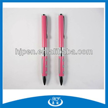 Unique Style Advertising Ball Pen with Rubber Hole,Customised Pens