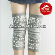 Knee Support Elastic Slip-on Sleeve Support, Beige - Medium