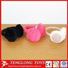 Fashion winter earmuffs plush cute cotton and plush earmuff