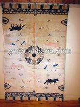 Antique Chinese Pillar Oriental Rug