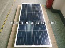 High efficiency 100 watt solar panel solar mono with TUV ISO CE certified