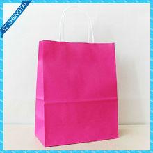 thin paper bags packaging & 210g art paper bag