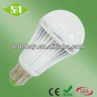 E26 E27 B22 A19 white body 7w smd5630 12 volt led e26 e27 bulb