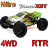 rc car nitro truggy 1/10 scale full time 4WD off-road 20cxp engine 2.4G transmitter rc petrol car