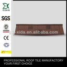 Sea Blue Color Steel Roofing Tile Flat Type