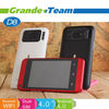 4inch D8 dual camera 3mp 5mp quadband android dual sim phone with case