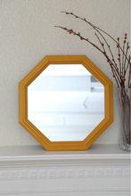 MDF Framed Octagon Mirror Work Wall Hanging