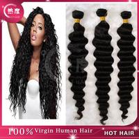 24 inch human hair full lace wig deep wave brazilian hair