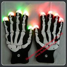 skeleton gloves for Halloween