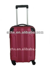 ABS 3-piece classic corlorful hardside trolley luggage bag