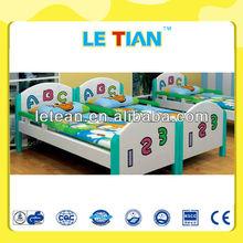 Solid Wood Mordern Bedroom Furniture Kids Bed LT-2148C
