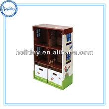 Children carton bookcase, kids book shelf