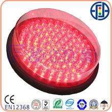 200mm Red Ball Small Fresnel lens LED Traffic signal Module