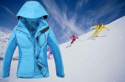 2014 fashion winter latest women ski clothes
