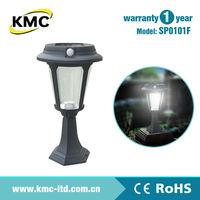 PIR Aluminum Die Cast Solar Garden Light SP0101F