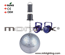 """8"""" MIRROR DISCO BALL DJ Stage Lighting Effects BAND PARTY PLANNER Home Decor NEW"""