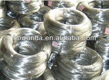 Plongé chaud de fil de fer galvanisé/zn/zingage à faible fil d'acier au carbone